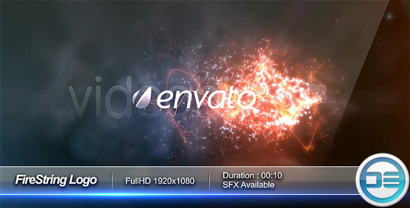 After Effects Project - VideoHive FireString Logo 74795
