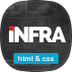 INFRA - News & Magazine HTML Template