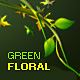 green floral layer styles  - GraphicRiver Item for Sale