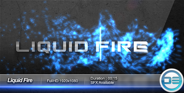After Effects Project - VideoHive Liquid Fire Logo FullHD 48121