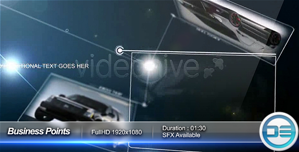 After Effects Project - VideoHive Business Points 63976