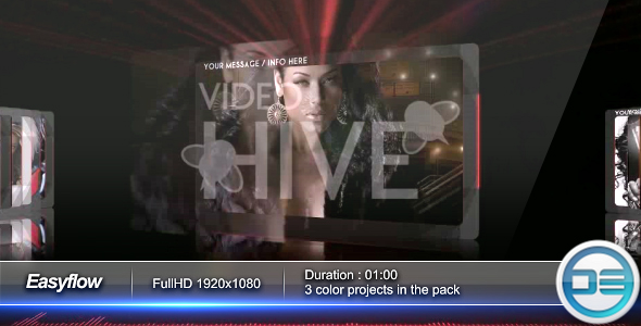 After Effects Project - VideoHive Easyflow CS3 & CS4 Project 54201