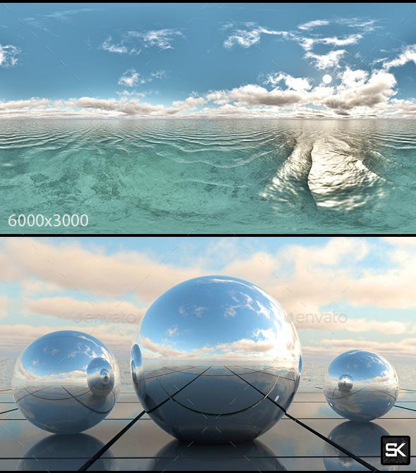 Sunrise On The Sea.5 - 3DOcean Item for Sale
