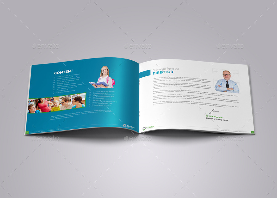 College University Prospectus Brochure v2 by JbnComilla – University Brochure Template