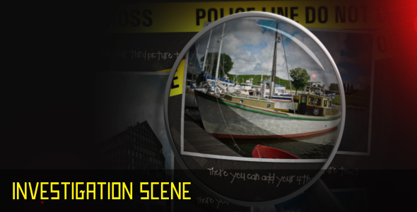 After Effects Project - VideoHive Investigation scene 69479