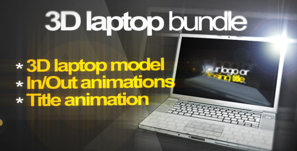 After Effects Project - VideoHive 3D Laptop animation bundle 57371