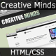 Creative Minds | A Portfolio/Business Template