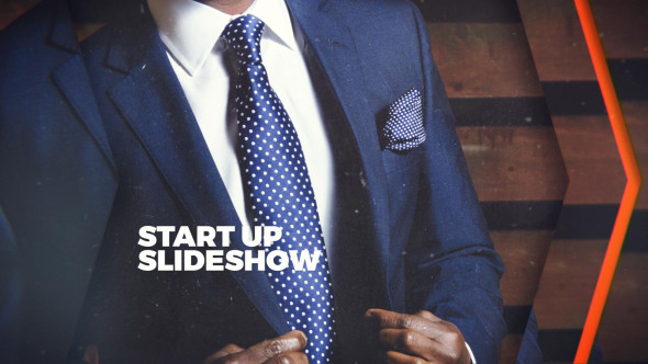 AE模板:商业干净电影宣传片头标志介绍婚礼幻灯片滚动展示模版Startup Slideshow 免费下载