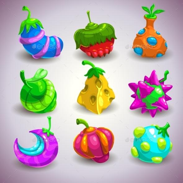 Fantasy Fruits