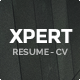 Xpert - Responsive CV Resume WordPress Theme