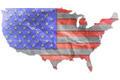 Vintage USA flag paper grunge. - PhotoDune Item for Sale
