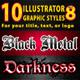 10 Illsutrator Graphic Styles Vol.8