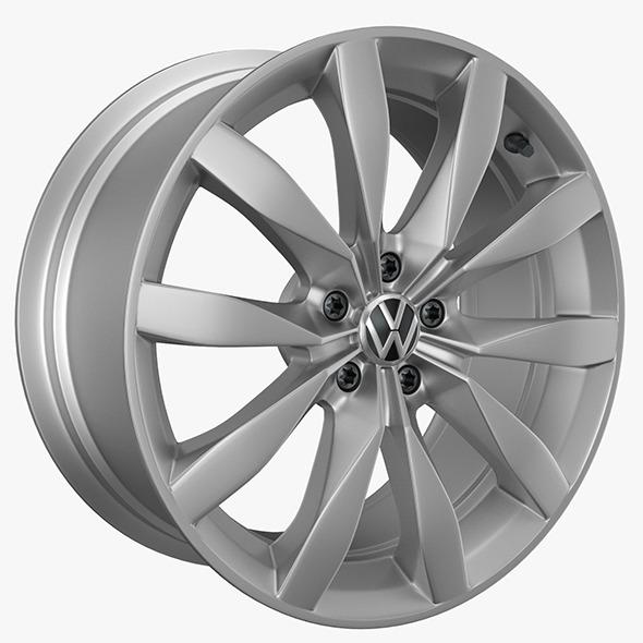 VW Rims Golf - 3DOcean Item for Sale