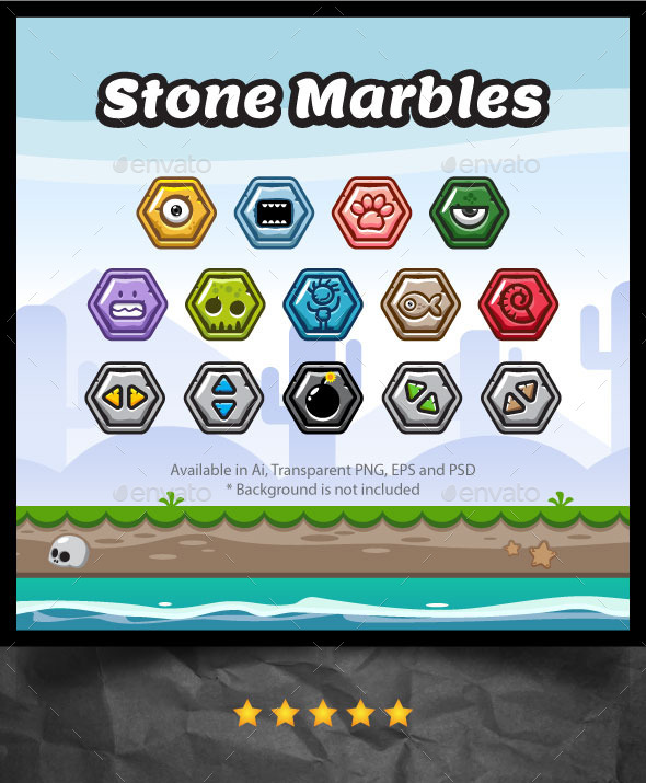 Stone Marbles (Miscellaneous)