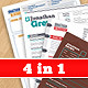 Resume Pack 4 in 1 - GraphicRiver Item for Sale
