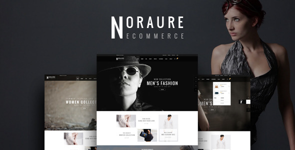 NORAURE - PSD eCommerce Template