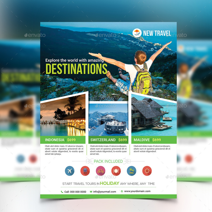 holiday travel tour flyer template by aam graphicriver flyer template holidays events middot screenshot 1 jpg