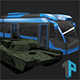 Low Poly Destructible 2Cars no. 9