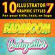 10 Illustrator Graphic Styles Vol.7