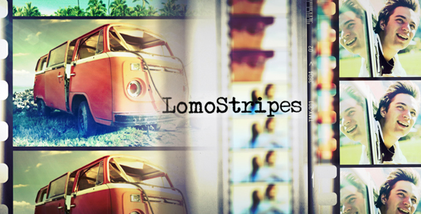 After Effects Project - VideoHive LomoStripes 154306