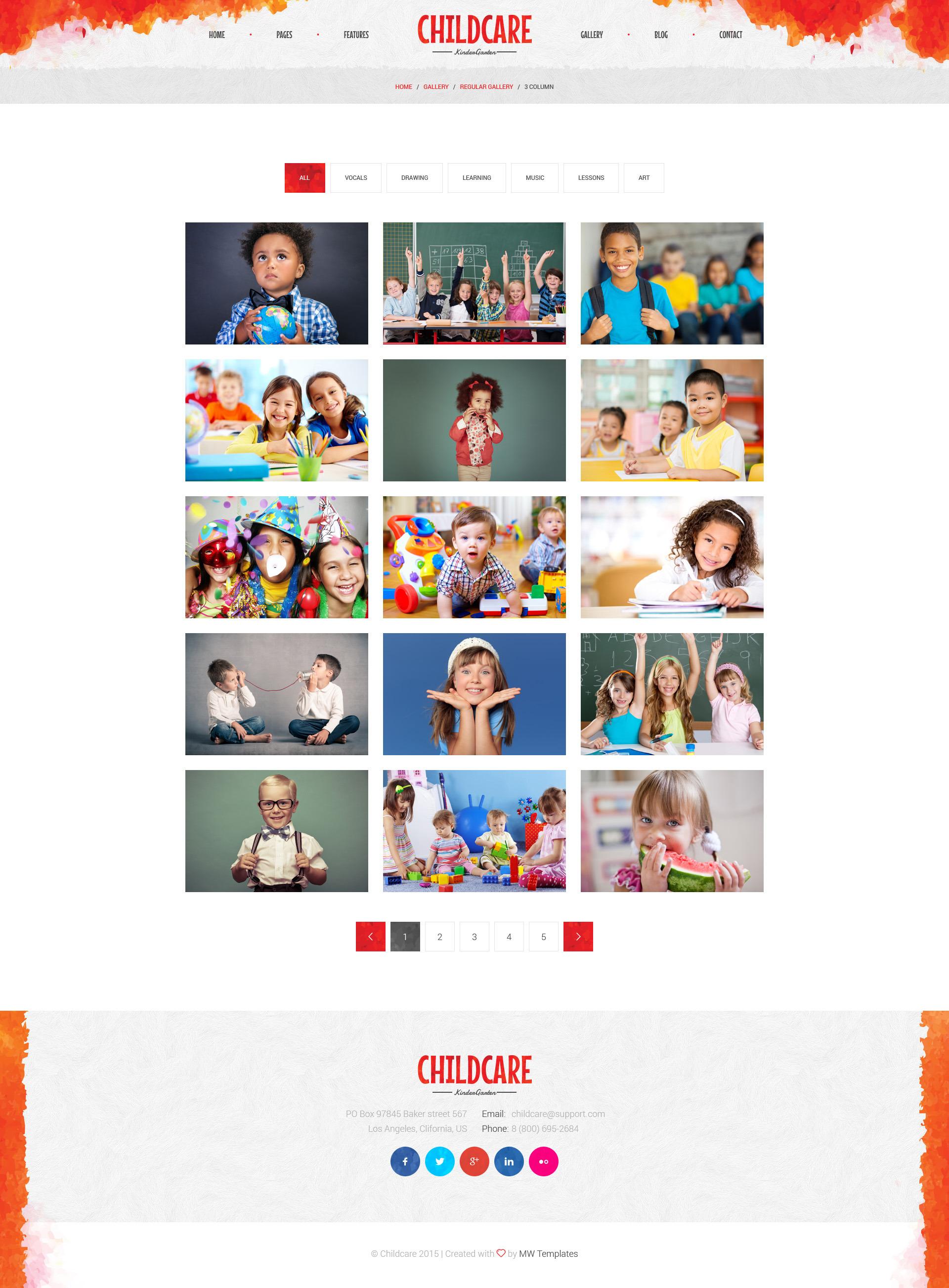 child care children kindergarten psd template by mwtemplates child care children kindergarten psd template