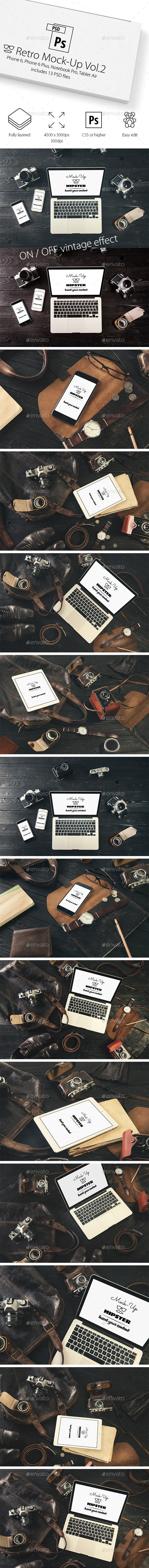 Complete Bundle of 55 Mocka Mockups (Displays)