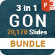 3 in 1 GON PowerPoint Template Bundle