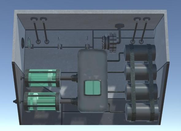 Industrial Pumping Mechanism - 3DOcean Item for Sale