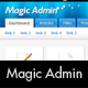 Magic Admin. Beautiful Professional Admin Template  Free Download
