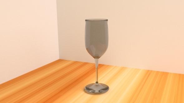 3DOcean Wine Glass 3D Model 12819985