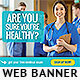 Medical Exam Web Banner Design