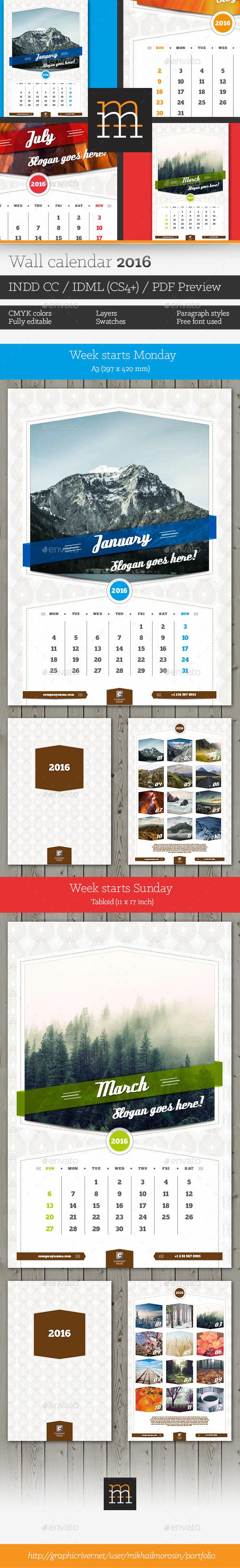 Calendar a3 graphics designs templates from graphicriver page 9 saigontimesfo