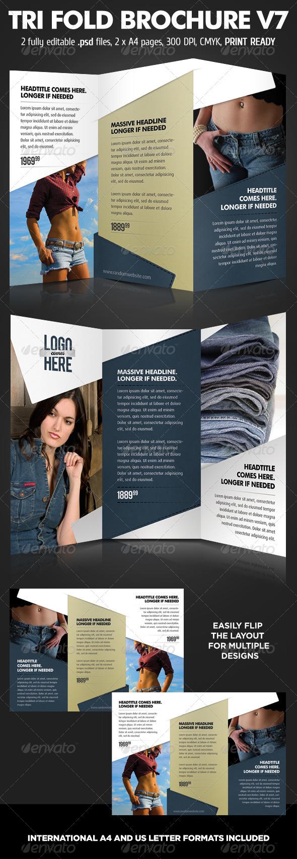 GraphicRiver TriFold Brochure V7 1112146