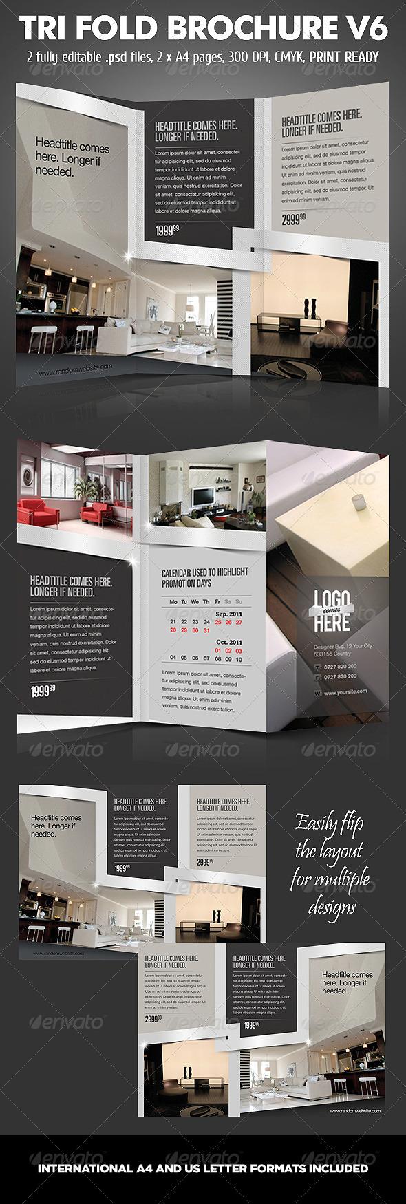 TriFold Brochure V6 | GraphicRiver