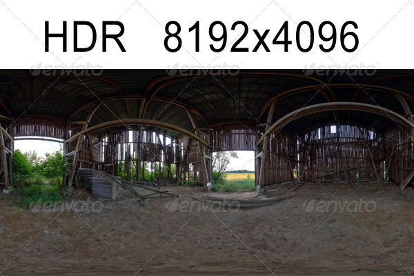 3DOcean Barn HDR Environment 1284264