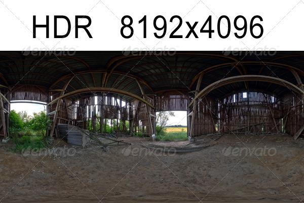 Barn HDR Environment
