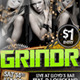 Grindr - PSD Party Flyer Template