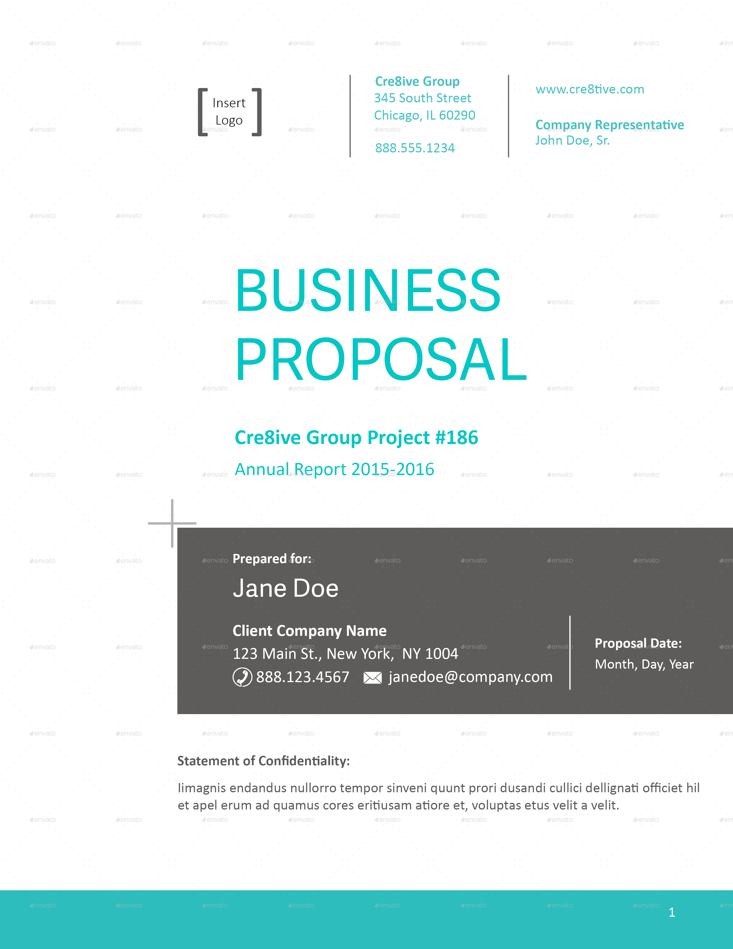 business proposal template by caallen graphicriver pages cover page png