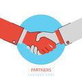 Handshaking illustration