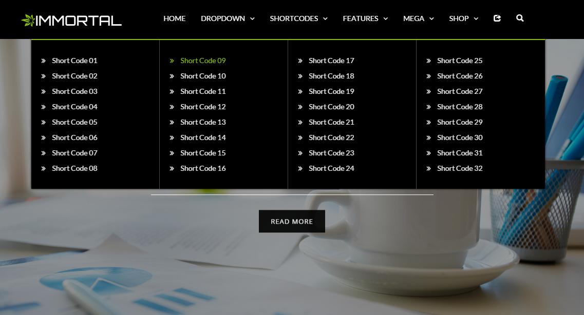 bootstrap mega menu 03