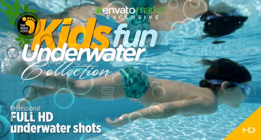 Kids Fun Underwater