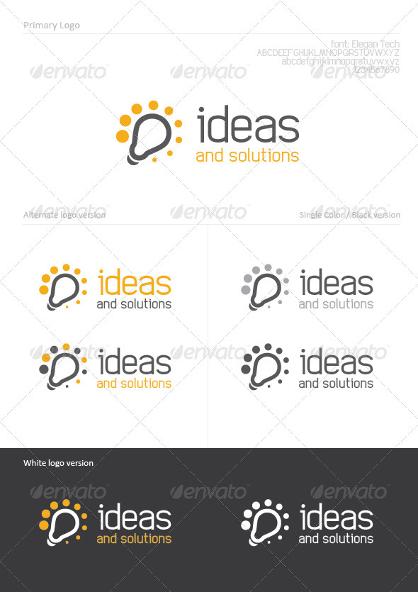 Ideas - Abstract Logo Templates