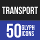 Transport Glyph Icons