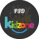 Kidzone - Primary School For Children PSD