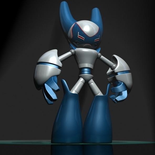 3DOcean RobotBoy Cartoon Robot Character 12834776