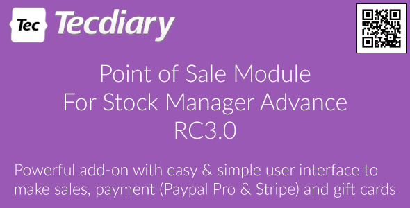 POS Module for Stock Manager Advance - CodeCanyon Item for Sale