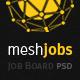 meshjobs - Job Board PSD Template
