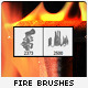 Fire Brushes - GraphicRiver Item for Sale
