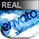 Realistic Under Ice Logo Reveal - VideoHive Item for Sale