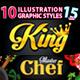 10 Illustrator Graphic Styles Vol.15